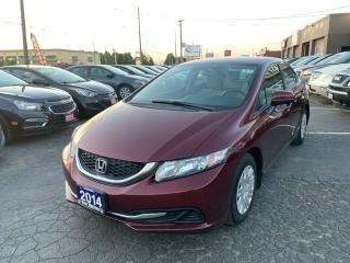 Used 2014 Honda Civic LX for sale in Hamilton, ON