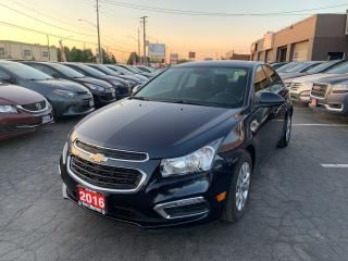 Used 2016 Chevrolet Cruze LT for sale in Hamilton, ON