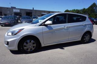 Used 2014 Hyundai Accent GL HB CERTIFIED 2YR WARRANTY BLUETOOTH HEATED SEATS CRUISE AUX for sale in Milton, ON