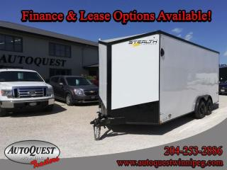 Used 2021 Stealth Cargo Trailer 7' x 18' V-Nose for sale in Winnipeg, MB