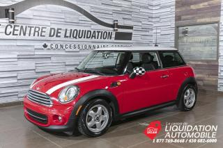 Used 2011 MINI Cooper GR,ÉLECT+A/C MAGS for sale in Laval, QC