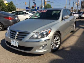 Used 2012 Hyundai Genesis 3.8 for sale in Toronto, ON