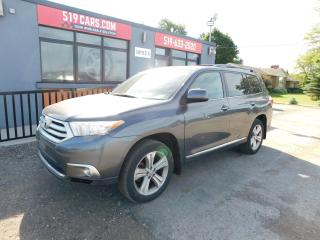 Used 2012 Toyota Highlander Sport | Leather | Sunroof | Backup Camera for sale in St. Thomas, ON
