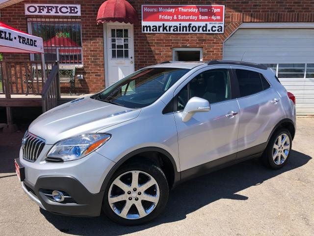 2014 Buick Encore Leather AWD Sunroof Remote Start Back Up Cam BlueT
