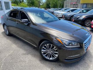 Used 2016 Hyundai Genesis PREMIUM/ LEATHER/ SUNROOF/ NAVI/ CAM/ ALLOYS++ for sale in Scarborough, ON