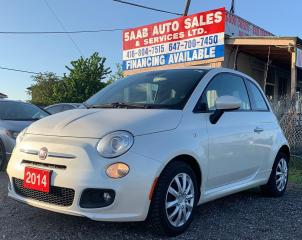 Used 2014 Fiat 500 Sport for sale in Mississauga, ON