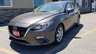 Used 2015 Mazda MAZDA3 GX-LOCAL TRADE-LOW KM for sale in Tilbury, ON