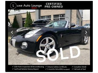 Used 2006 Pontiac Solstice PERFECT SUMMER CONVERTIBLE!! for sale in Orleans, ON