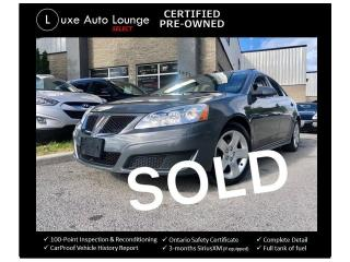 Used 2009 Pontiac G6 AUTOMATIC, SUNROOF, CRUISE!! for sale in Orleans, ON
