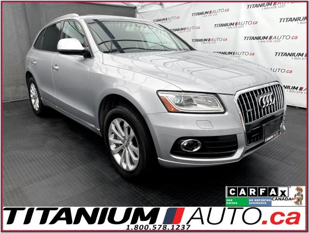 2016 Audi Q5 Progressiv+Quattro+GPS+Camera+Pano Roof+Power Trun