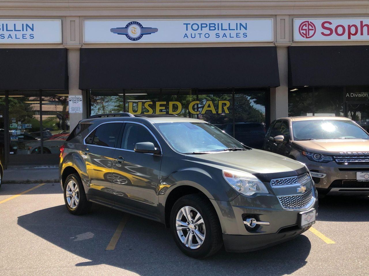 2012 Chevrolet Equinox 2LT AWD, Leather, Roof, B Cam