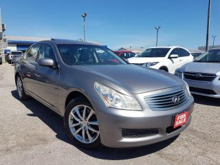 Used 2008 Infiniti G35 Luxury/AWD/LEATHER/SUNROOF/HEATED SEATS! for sale in Pickering, ON