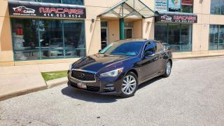 Used 2014 Infiniti Q50 Premium**NAVI**BACKUP CAM** for sale in North York, ON