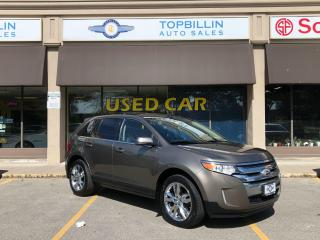 Used 2013 Ford Edge Limited AWD, Leather, Roof, Navi, Blind Spot for sale in Vaughan, ON