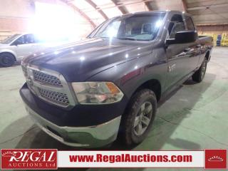 Used 2014 RAM 1500 SXT Quad CAB SWB 4WD 3.6L for sale in Calgary, AB
