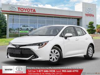 New 2020 Toyota Corolla Hatchback FA20 for sale in Whitby, ON