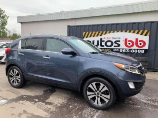 Used 2012 Kia Sportage AWD 4x4 - LIMITED for sale in Laval, QC