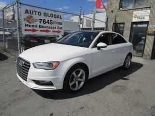 Used 2016 Audi A3 2.0T Komfort quattro berline 4 portes for sale in Montréal, QC