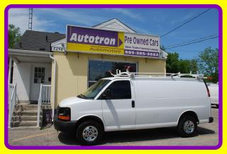 Used 2015 GMC Savana 2500 3/4 Ton Cargo Van, Loaded, Roof Rack for sale in Woodbridge, ON