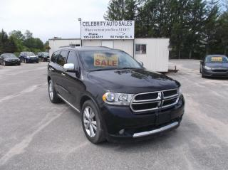 Used 2011 Dodge Durango CREW AWD for sale in Elmvale, ON