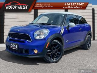 Used 2014 MINI Cooper Paceman S ALL4 - AWD NO ACCIDENT! for sale in Scarborough, ON