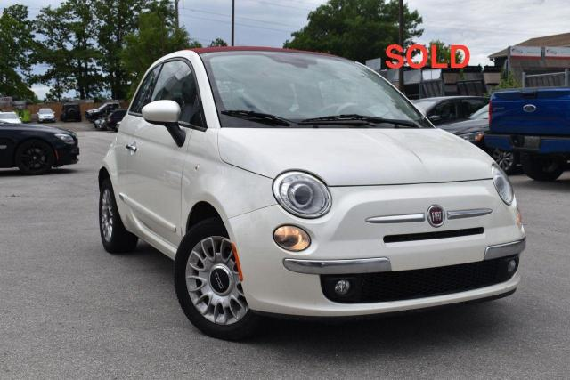2012 Fiat 500 SOLD