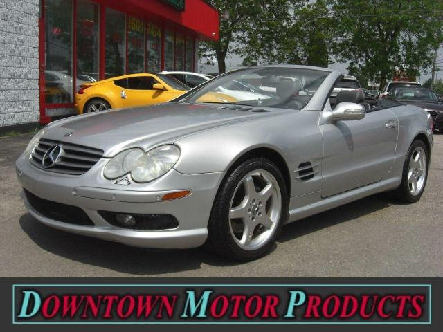 2003 Mercedes-Benz SL500 5.0L