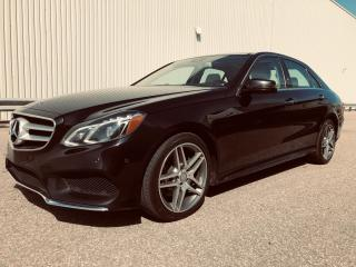 Used 2016 Mercedes-Benz E-Class E 400 4Matic AMG Style for sale in Mississauga, ON
