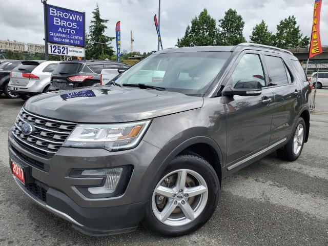 2017 Ford Explorer XLT, LOCAL, NAVIGATION, MOONROOF