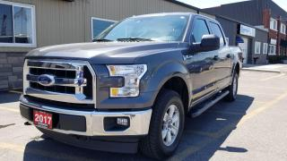 Used 2017 Ford F-150 XLT-4X4-SUPERCREW-BACK UP CAMERA-SAT RADIO for sale in Tilbury, ON