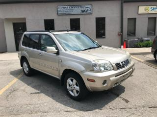 Used 2006 Nissan X-Trail 4dr SE FWD Auto,PANORAMIC SUNROOF,CERTIFIED ! for sale in Burlington, ON
