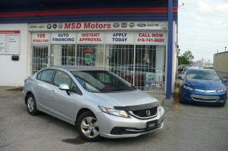 Used 2013 Honda Civic LX  ACCIDENT FREE for sale in Toronto, ON