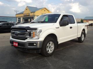 Used 2018 Ford F-150 XLT SuperCab 4x4 5.0L 6.5ft Box BackUpCam for sale in Brantford, ON