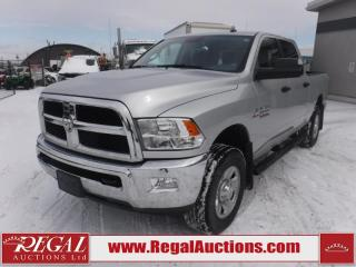 Used 2018 RAM 3500 SLT Crew CAB SWB 4WD 6.7L for sale in Calgary, AB