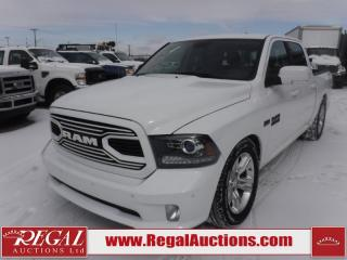 Used 2018 RAM 1500 Sport Crew Cab SWB 4WD 5.7L for sale in Calgary, AB