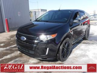 Used 2014 Ford Edge Sport 4D Utility AWD 3.7L for sale in Calgary, AB