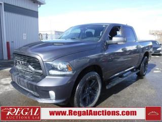 Used 2018 RAM 1500 Sport 4D Crew CAB SWB 4WD 3.0L for sale in Calgary, AB