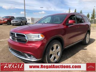 Used 2015 Dodge Durango Limited 4D Utility AWD 3.6L for sale in Calgary, AB