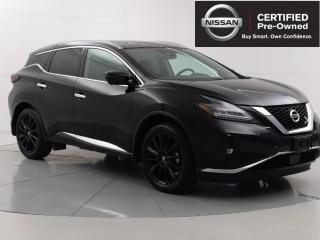 Used 2020 Nissan Murano Platinum Black Limited Edition, Heated/Cooling seats, Apple CarPlay for sale in Winnipeg, MB