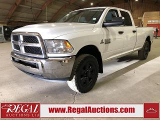 Used 2015 RAM 3500 SXT 4D CREW CAB 4WD for sale in Calgary, AB