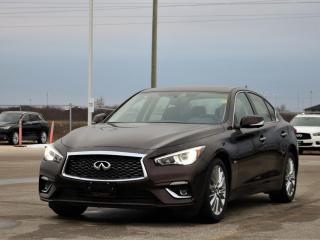 New 2020 Infiniti Q50 3.0 Proactive AWD  Sunroof, Navigation, Advanced Safety Features, Bose Audio! for sale in Winnipeg, MB
