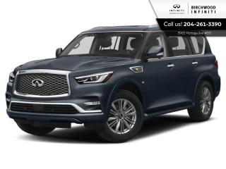 New 2020 Infiniti QX80 LUXE for sale in Winnipeg, MB
