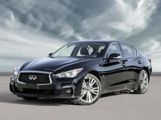 New 2020 Infiniti Q50 3.0t Signature Edition Moonroof, 19 Inch Sport Wheels, Sport Bumper! for sale in Winnipeg, MB