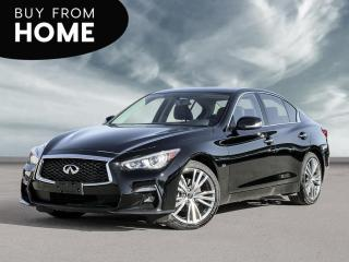 New 2020 Infiniti Q50 Signature Edition Sunroof, Navigation, Back Up Camera! for sale in Winnipeg, MB