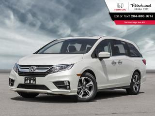 New 2020 Honda Odyssey EX HondaVAC, tri-zone climate control, power driver's seat, power moon roof with tilt for sale in Winnipeg, MB