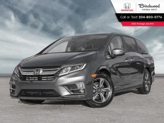 New 2020 Honda Odyssey EX-L w/Nav acoustic windshield, memory-linked side mirrors, LED taillights, rear spoiler, NAVI for sale in Winnipeg, MB