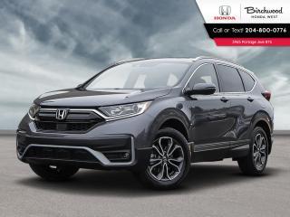 New 2020 Honda CR-V EX-L leather, power tailgate, SiriusXM Radio, heated rear seats, driver memory seats for sale in Winnipeg, MB