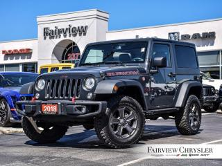 Used 2018 Jeep Wrangler Rubicon l RECON EDITION l NAV l TOW PKG l for sale in Burlington, ON