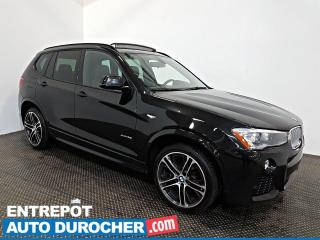 Used 2017 BMW X3 XDrive35i AWD NAVIGATION - Toit Ouvrant - A/C - for sale in Laval, QC