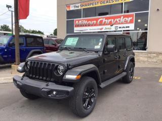 New 2020 Jeep Wrangler Unlimited Sahara Altitude for sale in Milton, ON
